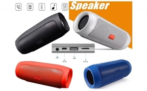 Boxa portabila Bluetooth, USB, card, 2 difuzoare, 15W