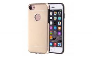 Husa Apple iPhone 6 Plus/6S Plus Motomo V2 Roz-Auriu