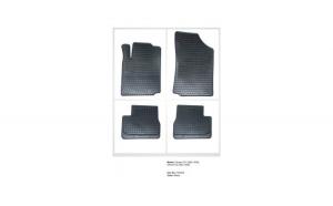 Covorase Presuri interior cauciuc Premium dedicate Citroen C2 2003-2009