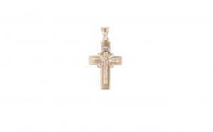Crucifix din aur 14K