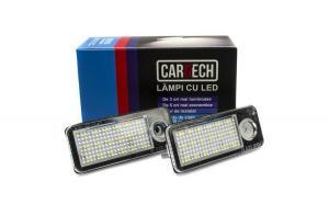 Lampi numar dedicate cu led Audi A6
