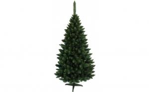 Brad artificial de Craciun, inaltime 120 cm , culoare verde, suport brad inclus