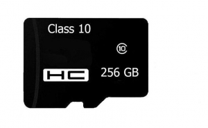 Card de memorie Micro SD cu adaptor SD de 256 GB