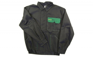 Bluza lucru negru verde marimea L 260g