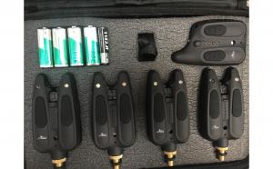 Set senzori 4+1, model 2019, cu penar pentru transport