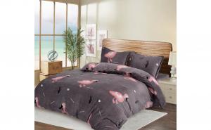 Lenjerie de pat Cocolino, 2 persoane, 4 piese