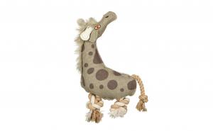 Jucarie girafa pentru caini, 26 cm