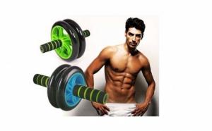 Rola pentru abdomene ideala pentru definirea musculaturii + set 5 plasturi slabit zona abdominala