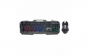 Set tastatura mouse gaming rgb mecanica