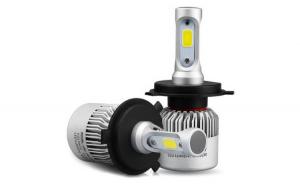 Set 2 LED H7 , 72W , 8000Lm  6500K Auto