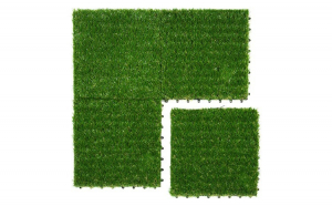 Mocheta iarba sintetica, 30x30 cm, verde