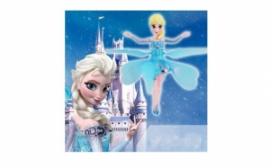 Zana zburatoare Frozen, Campanie Mos Nicolae