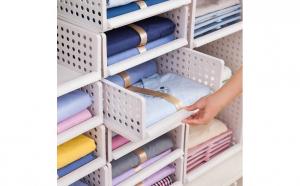 Raft stratificat pentru depozitare haine, Produse sub 100 lei