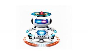 Robot dansator Bump & GO  -  sunete si lumini