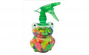 Set 300 baloane de apa cu sprayer in forma de broasca