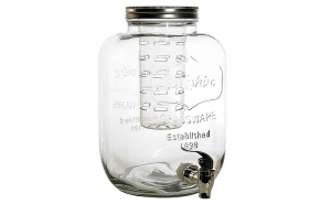 Dispenser pentru limonada cu robinet si rezervor pentru gheata, 5 l