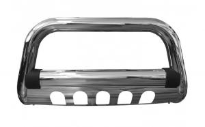 Bullbar inox cu scut Mitsubishi L200