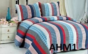 Eleganta si rafinament! Cuvertura de pat eleganta, din bumbac 100% la doar 160 RON in loc de 380 RON
