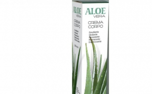 Lotiune hidratanta de corp cu 25% gel virgin de Aloe Vera, 200 ml La Dispensa, la 80 RON