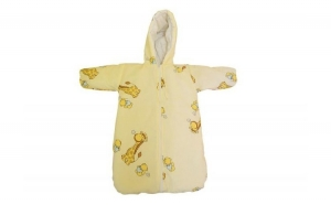 Sac bebe pentru carucior Girafa Crem, Baby`s Day