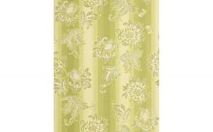 Tapet verde model floral cu finisaj stralucitor si fundal mat 084-25