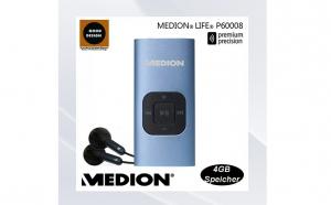 Mp3 Player MEDION Germany, 4 GB memorie interna, la 69 RON in loc de 149 RON