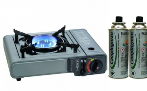 Aragaz Camping Mobil + 3 rezerve gaz