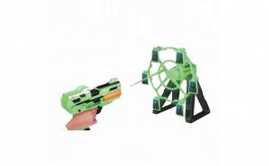 Set pistol de jucarie cu tinta rotativa
