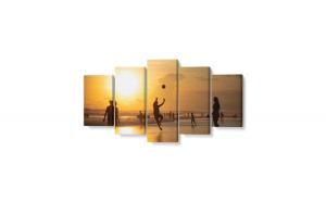 Tablou MultiCanvas Personalizat, 100 x 50 cm, 100% Bumbac
