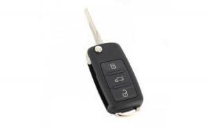 Audi A8 - Carcasă cheie tip briceag, 3 butoane, fără buton panică