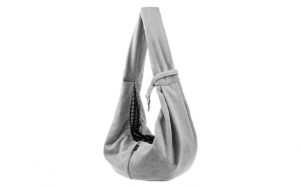 Geanta de umar tip sling animale Gri