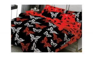 Lenjerie pentru pat dublu cu 2 fete