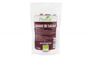 Boabe de cacao raw, bio, 50 g