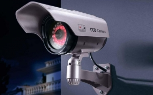 Camera de supraveghere falsa pentru interior/ exterior - cu aspect profesional