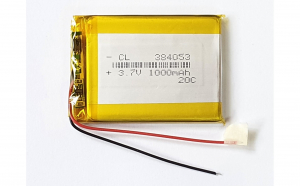 384053 - Acumulator Li-Po- 3,7 V-1000mah
