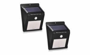 Set 2x Lampi Solare cu 20 LED
