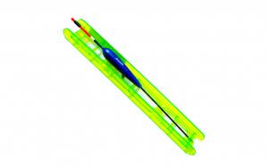 Linie pescuit echilibrata 7 m,fir 0.18mm,carlig nr 10