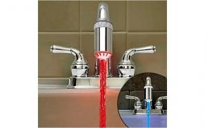 Incearca ACUM ineditul cap de robinet cu LED, pentru numai 35 RON, pret redus de la 61 RON