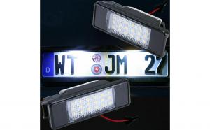 Lampi numar led Citroen,Peugeot,Mercedes