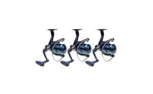 Set 3 Mulinete, WindBlade, G360RM, echipata cu 6 rulmenti si tambur metalic