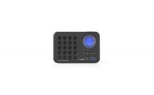 Radio cu ceas si alarma 3 W port USB si