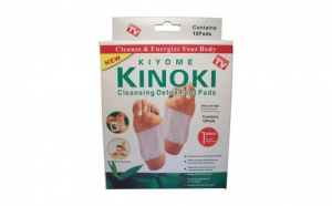 Plasturi tip Kinoki detox cu vitamina C