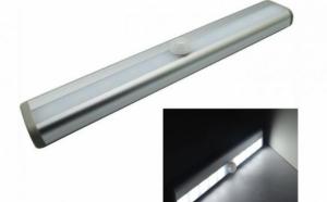 Lampa LED fara fir, senzor miscare, pentru dulapuri si spatii intunecate