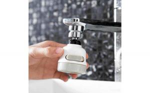 Cap flexibil de robinet cu 3 tipuri de jet, functie 360 grade