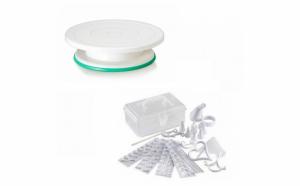 Set Platou rotativ + kit decorare