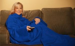 Snuggie - Patura cu maneci pentru confortul dumneavoastra, la 49 RON