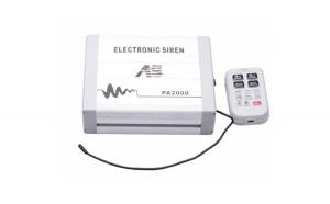 Amplificator profesional pentru sirena auto cu MP3. COD: PA2000-MP3