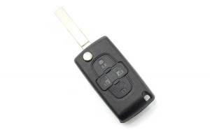 Citroen / Peugeot - Carcasa tip cheie