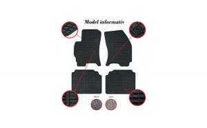Covorase Presuri interior cauciuc Premium dedicate Citroen C1 II 2014-2018