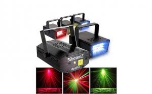 Mini proiector RGB cu 24 leduri multicolore, functie STROBOSCOP sau RITMIC, acum la pretul de 69 RON in loc de 149 RON
